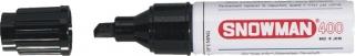 SNOWMAN  Permanent Marker 400 schwarz
