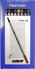 LACO Fasermaler FM-12 Set