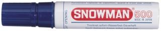 SNOWMAN  Permanent Marker 500 blau