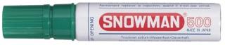 SNOWMAN Permanent Marker 500 grün