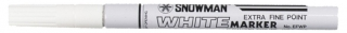 SNOWMAN Paint Marker EFWP-12 white