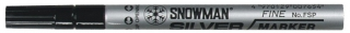 SNOWMAN Paint Marker FSP-12 silver