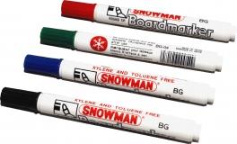 SNOWMAN  White Board Marker BG12 rot